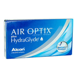 Air Optix Plus Hydraglyde 6