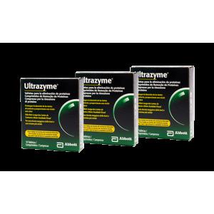 Pack 3 Ultrazyme Tabletas