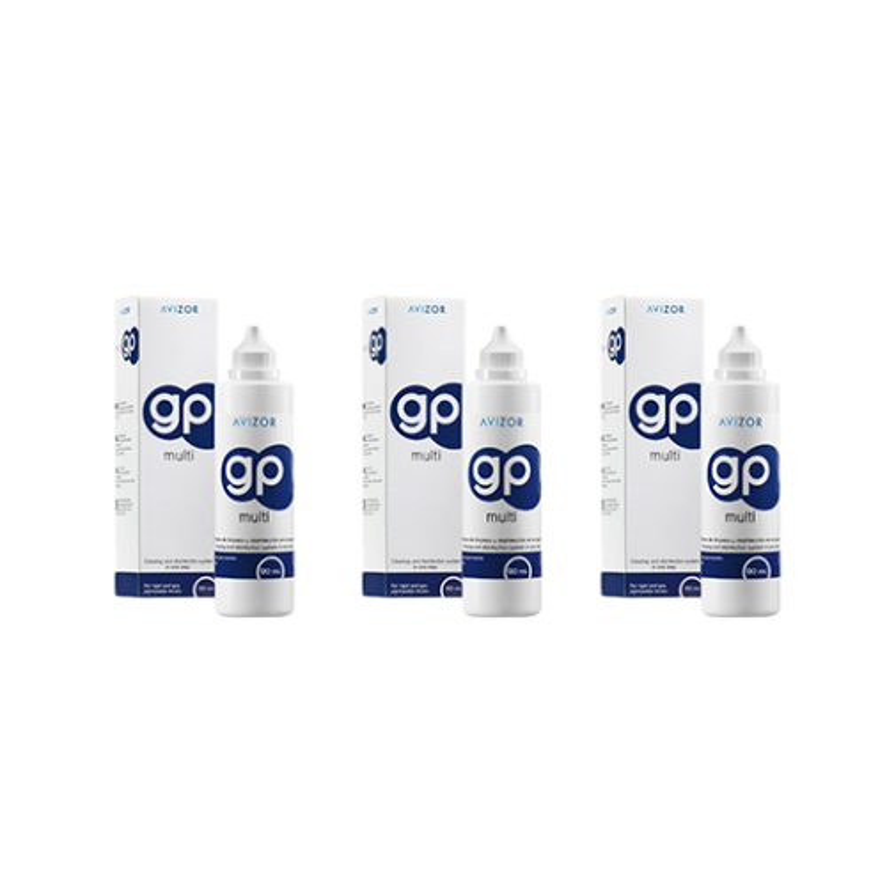 Pack 3 GP Multi 120 ml