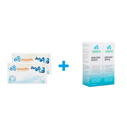 Pack 2 cajas E-month 6 uds...