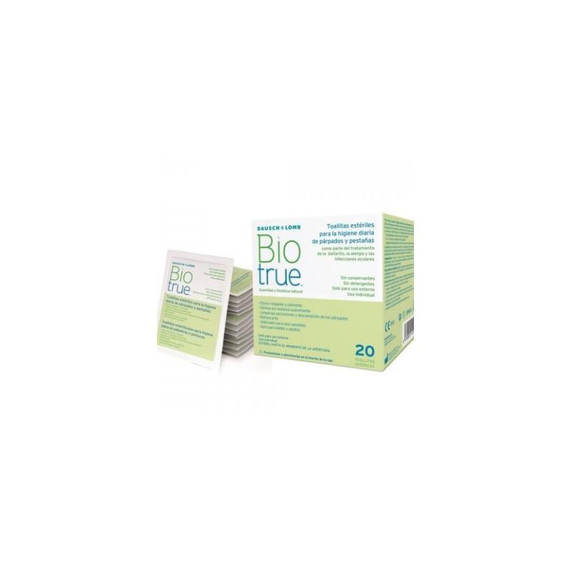 Biotrue Toallitas Oculares (20 unidades)