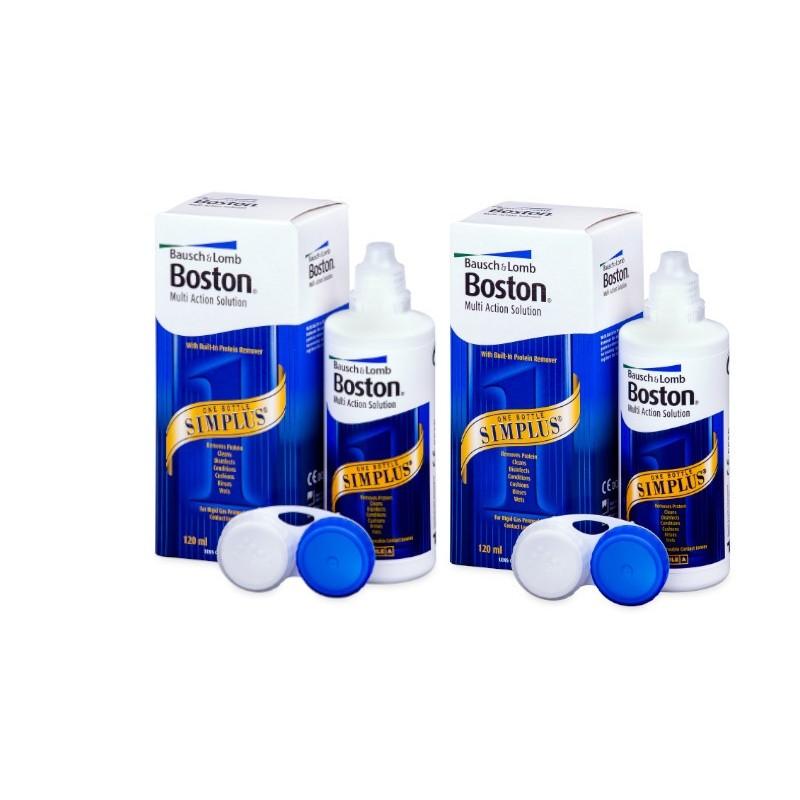 Pack 2 Boston Simplus 120 ml