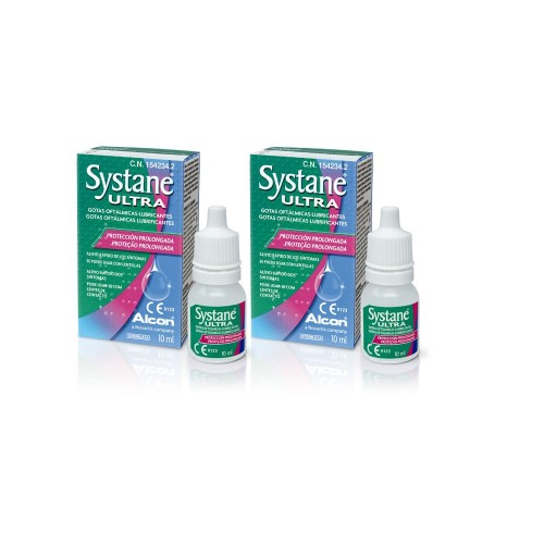 Pack 2 Systane Ultra 10 ml